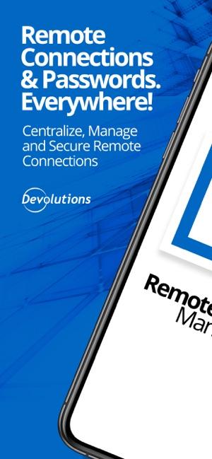 Remote Desktop Manager Screenshot
