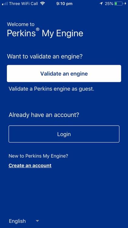 Perkins® My Engine