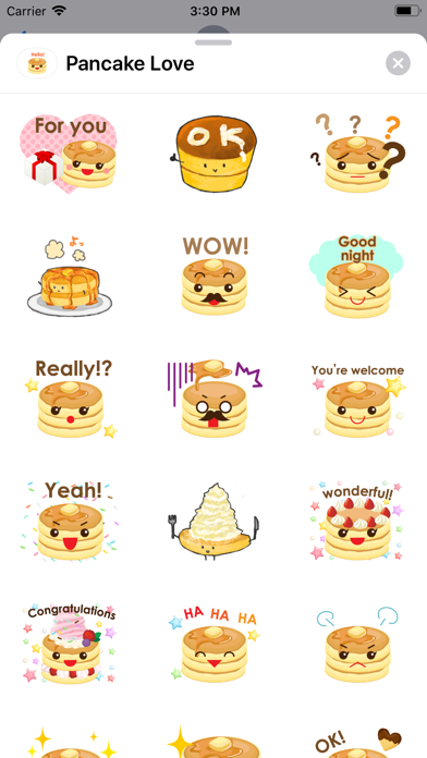 Pancake Love screenshot 1