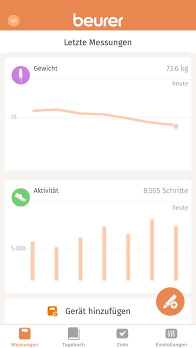 messages.download Beurer HealthManager software