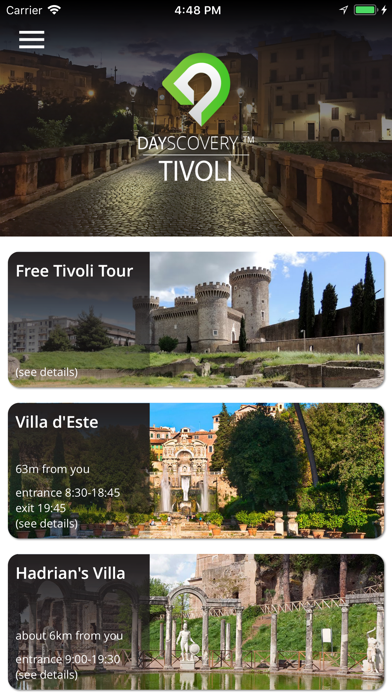 Tivoli DayScovery screenshot one