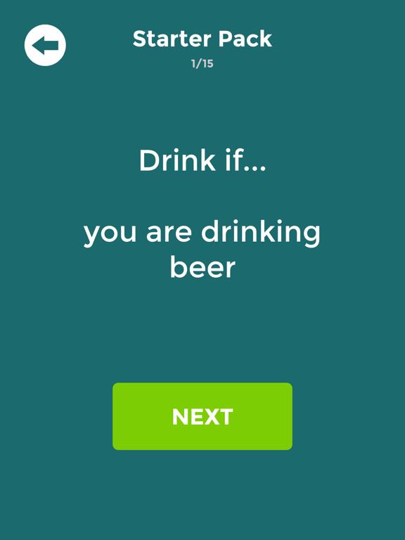 Drink If: Buzzed Drinking Game screenshot 4