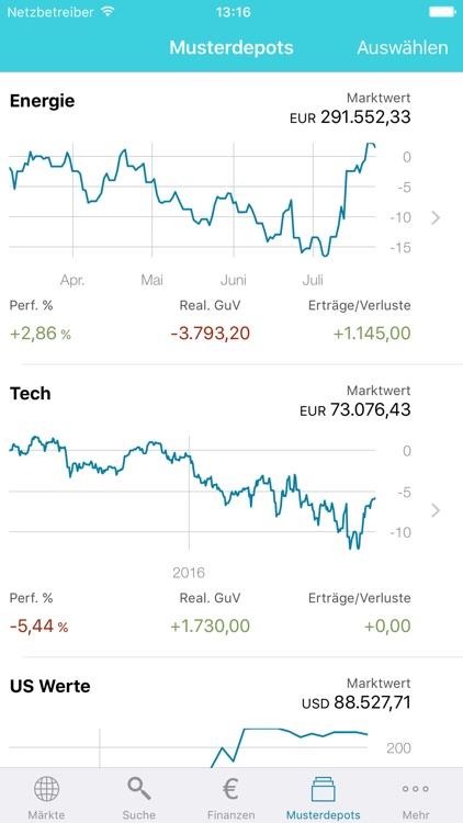 Hello Markets! Trading & Kurse screenshot-4
