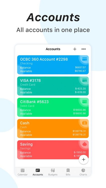 bWallet - Expense Tracker