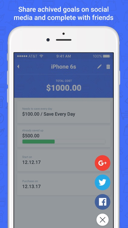 Piggy - Daily Budget Tracker screenshot-3