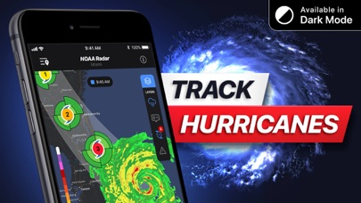Weather Radar NOAA⁺ Screenshot