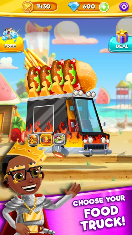 Foodgod's Food Truck Frenzy™