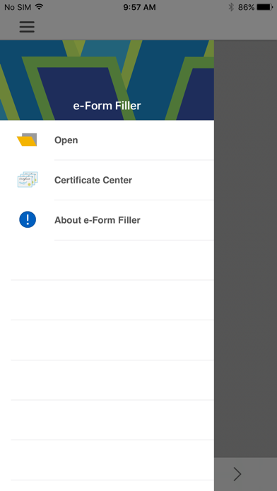 e-Form Filler screenshot one