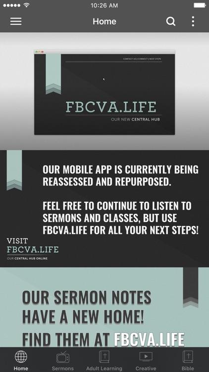 Fellowship Bible Church - VA