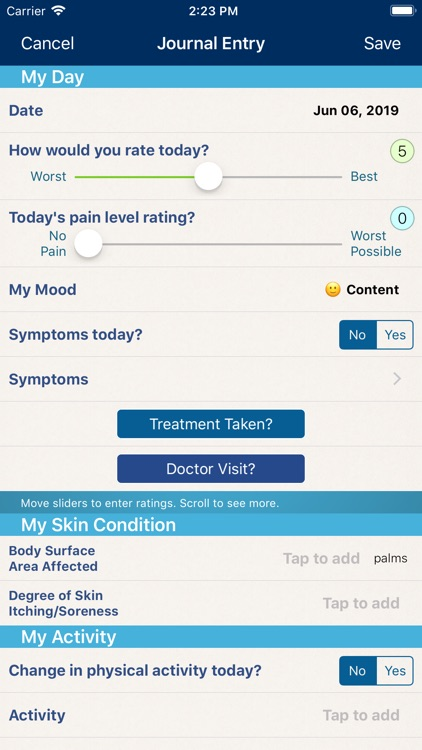 Psoriasis Manager screenshot-0