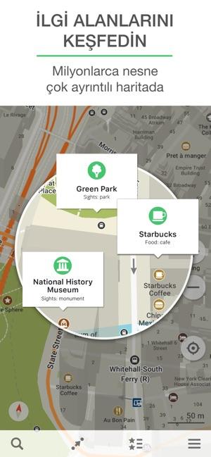 Mapsme Navigasyon Ve Harita App Storeda