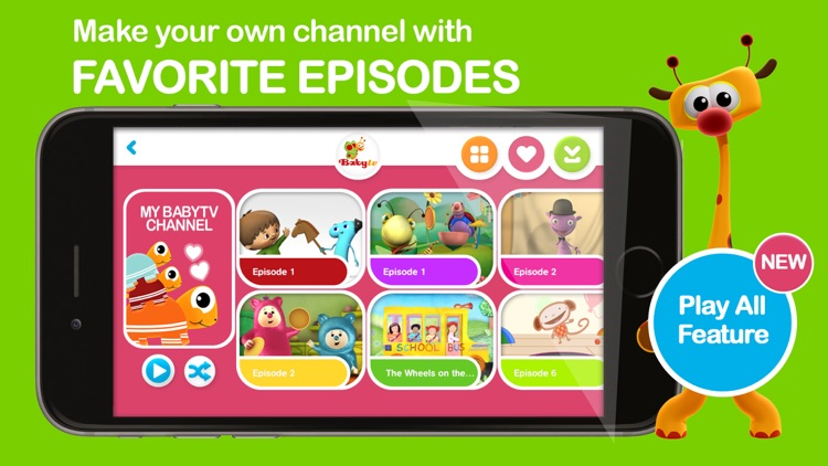 Baby-TV Legacy app