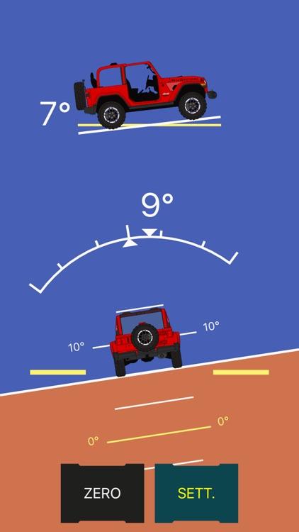 Off-Road Inclinometer