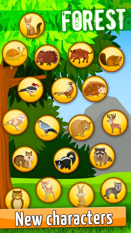 Forest:Toddlers Coloring Games screenshot-5