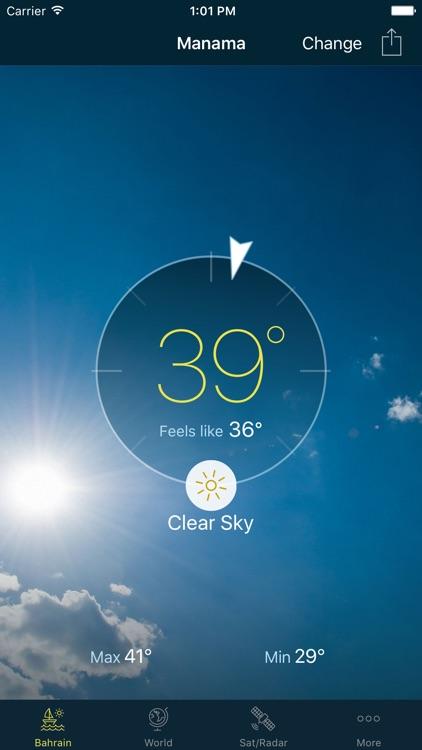 Bahrain Weather