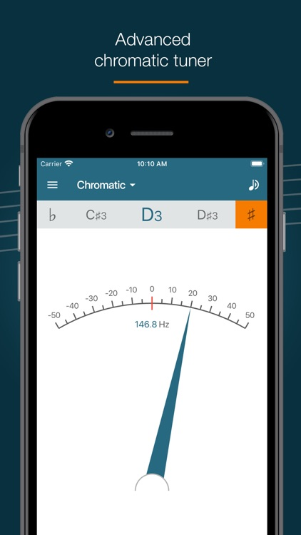 Pitched Tuner - Tuning App screenshot-3
