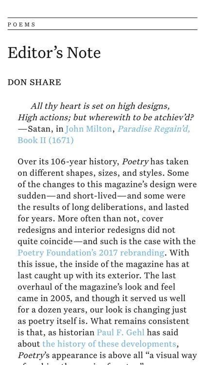 Poetry Magazine App screenshot-3