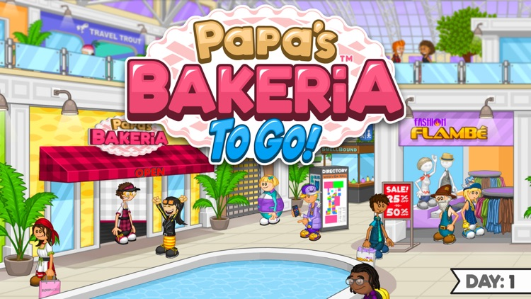 Papa's Bakeria To Go!
