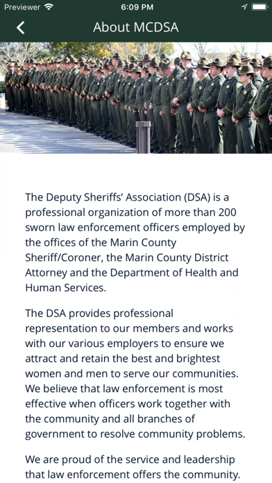 Screenshot for Marin County DSA in United States App Store