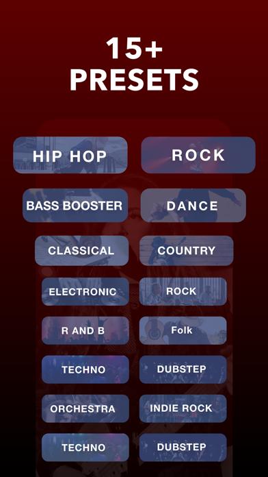 Equalizer Fx: Bass Booster App Screenshot
