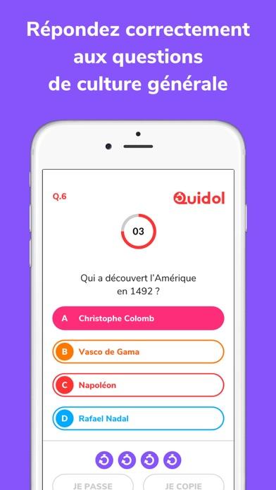 Quidol - Quiz Show en Direct screenshot two