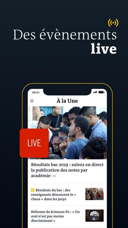 Le Monde, l'info en continu screenshot-5