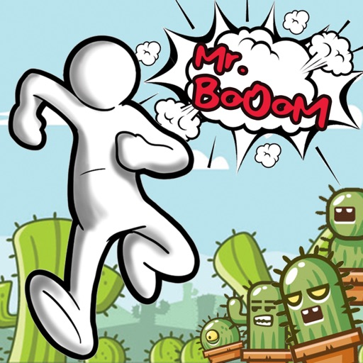 Mr Boom: Temple Dash Run game