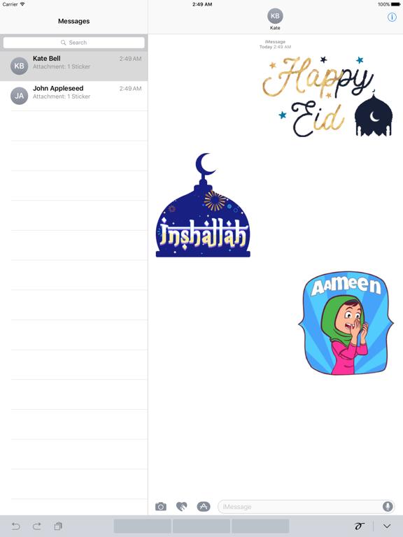 Animated Eid al-Fitr Sticker screenshot 4