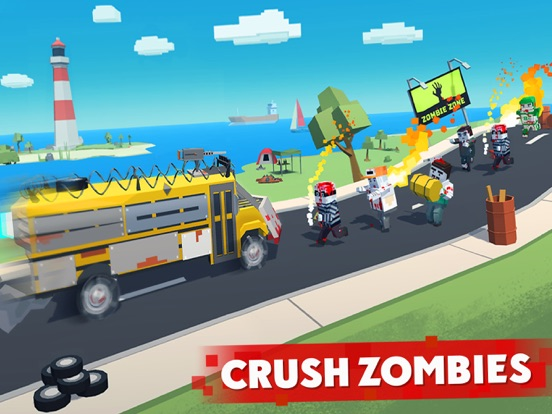 Zombie Derby: Pixel Survival screenshot 6