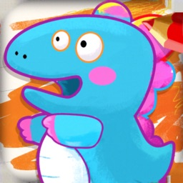 Dinosaur Drawing Kids Games