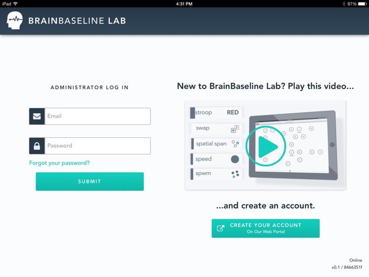 BrainBaseline Lab