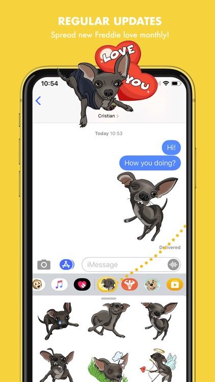FreddieMojis - Chihuahua emoji screenshot-5