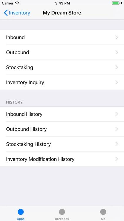 Crosshair - Barcode ERP screenshot-6