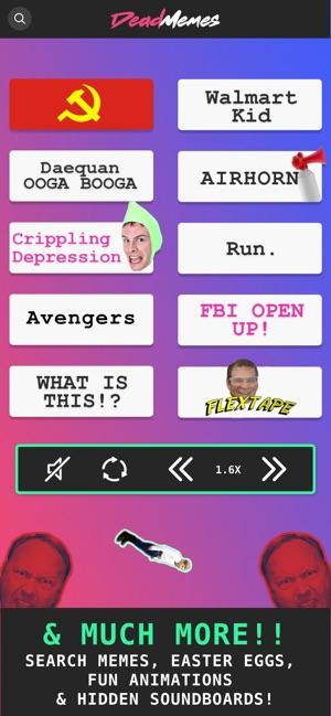 Dead Memes - Meme Sound Board on the App Store