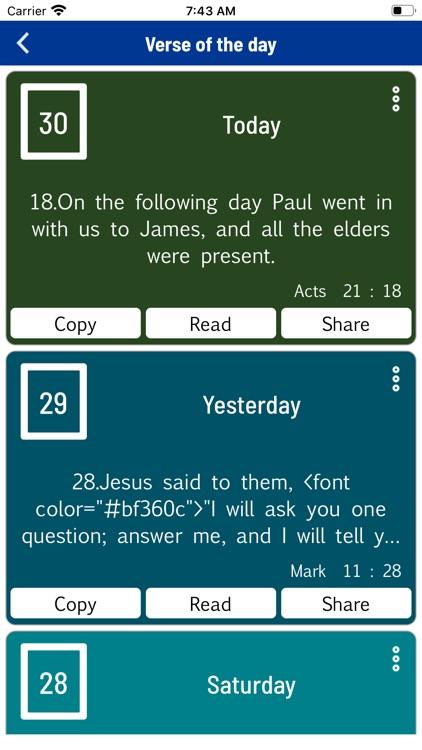 Message Bible (MSG) Offline screenshot-9