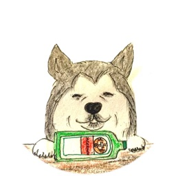 Drinking Dogs Sticker Pack