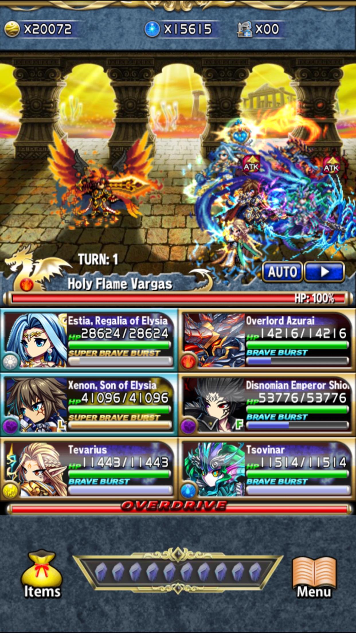 Brave Frontier Screenshot