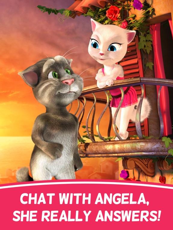 Tom Loves Angela for iPad Screenshots