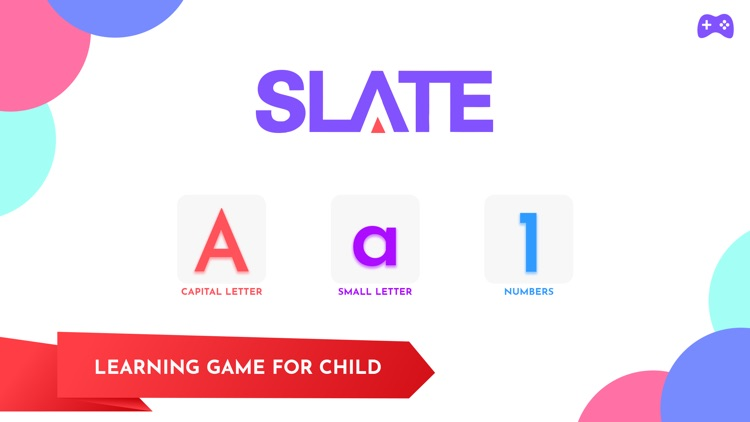 Slate Tracing Alphabets Number