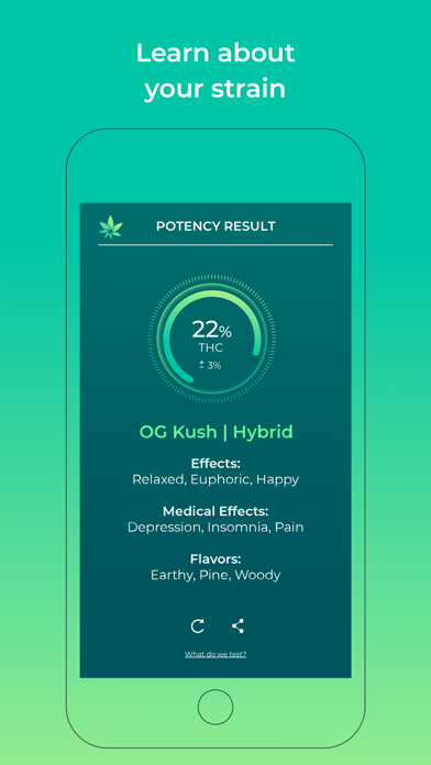 HiGrade: Cannabis Testing Screenshot