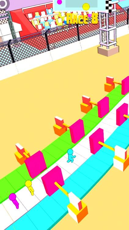 Stickman Race 3D screenshot-3