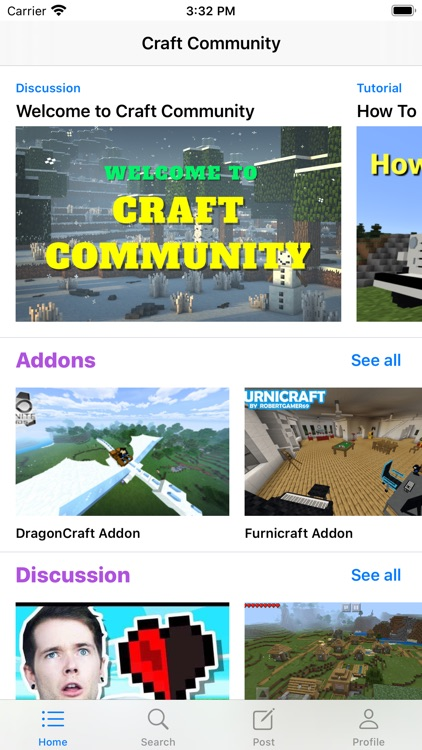 Addons for Minecraft Community