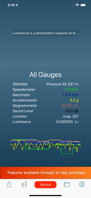 Gauges on the App Store