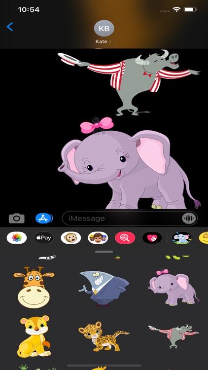 Animals Stickers & Emojis screenshot-9