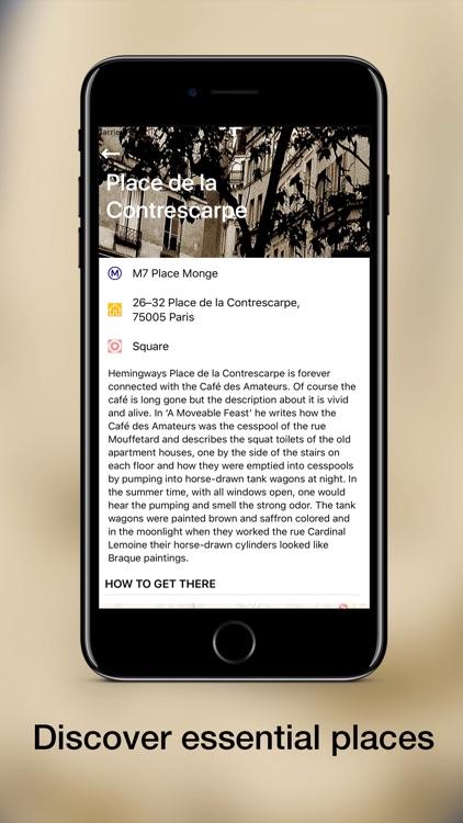 Hemingway in Paris screenshot-6