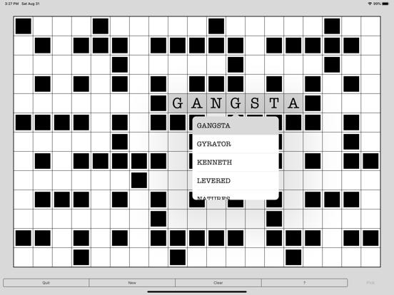 Word Fill - Infinite fill in puzzles screenshot