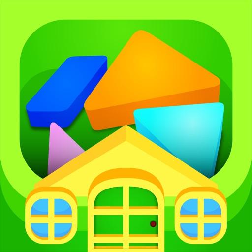 Kinder Tangram: Brain Game iOS App