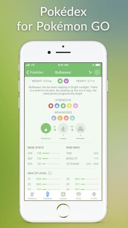 Pocketdex for Pokémon GO by Thientam Bach