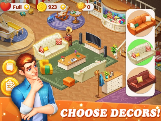 Dream Home Match 3 Puzzles Gam screenshot 7