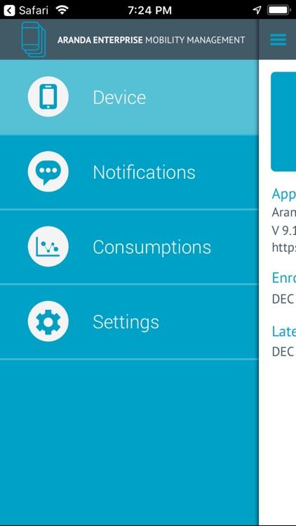 Aranda EMM Agent screenshot-4